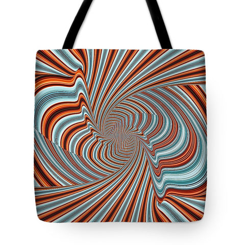 Magic Colorful Hypnotic Twister  - Tote Bag - Design Forms Of Art