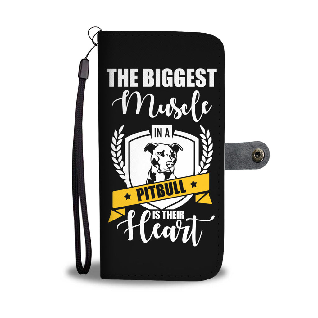 The Biggest Muscle In A Pitbull Is Their Heart • Free Shipping
