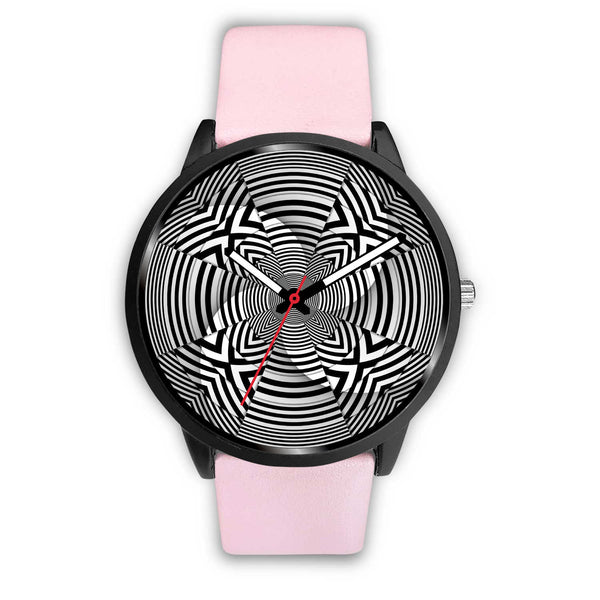 Hypno Cross Stripes • Custom Art Watches • Free Shipping - Design Forms Of Art