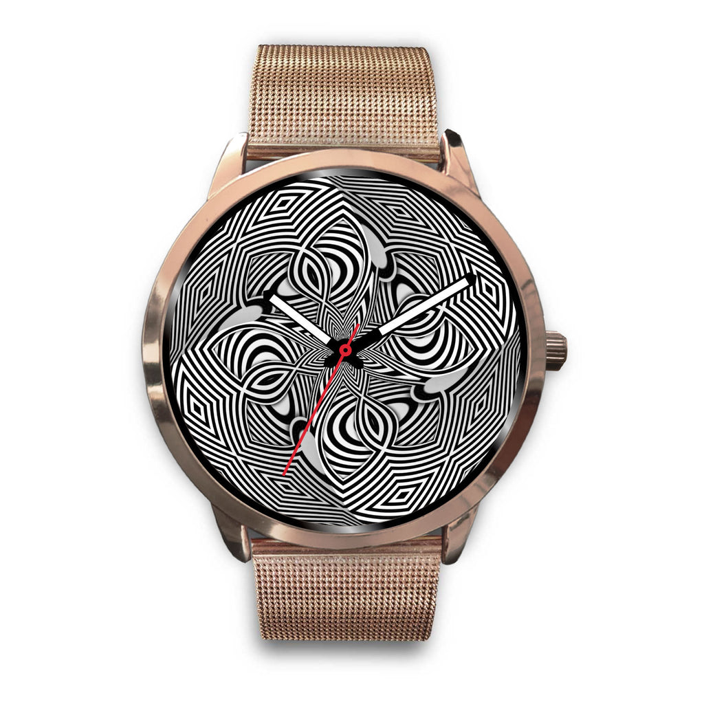Hypno Flower • Custom Art Watches • Free Shipping - Design Forms Of Art