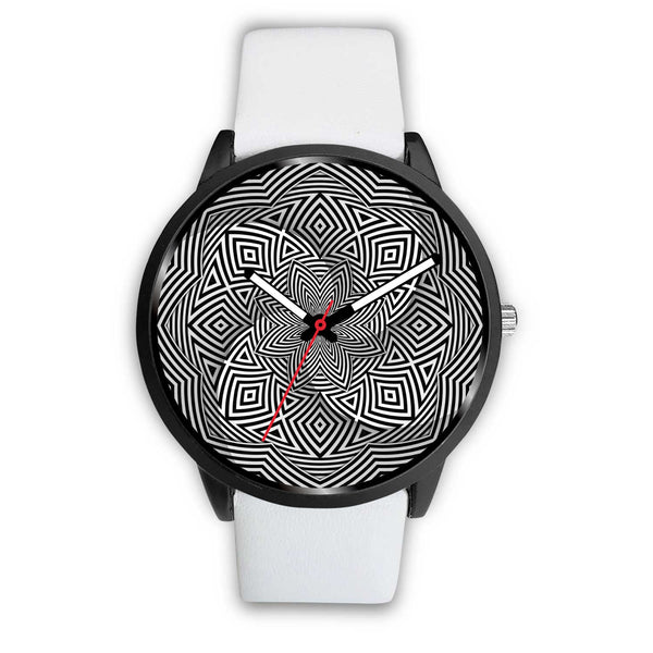 Hypno Flower A • Custom Art Watches • Free Shipping - Design Forms Of Art