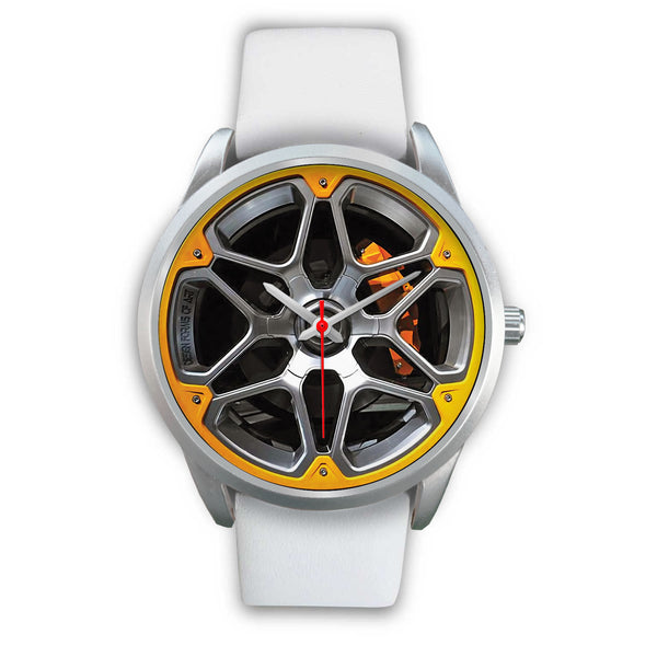 Wheels Of Steel - D • Custom Art Watches • Free Shipping - Design Forms Of Art