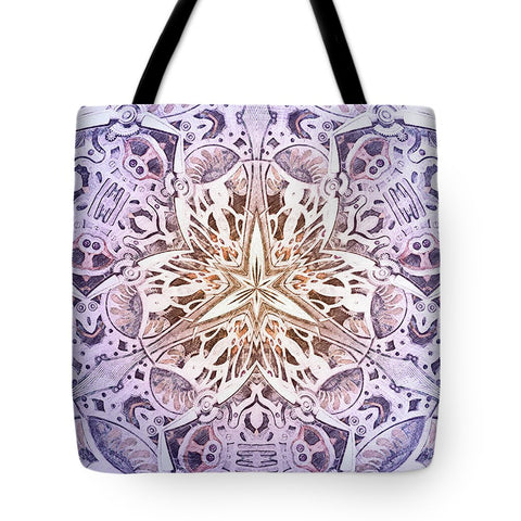 Purple MechanisMadness - Tote Bag - Design Forms Of Art