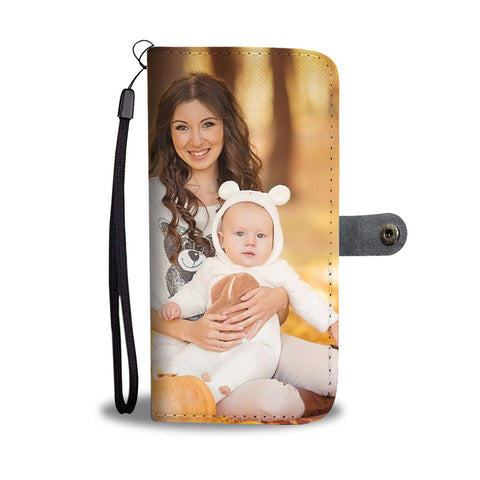 PERSONALIZED Memories • Wallet Phone Case • Free Shipping