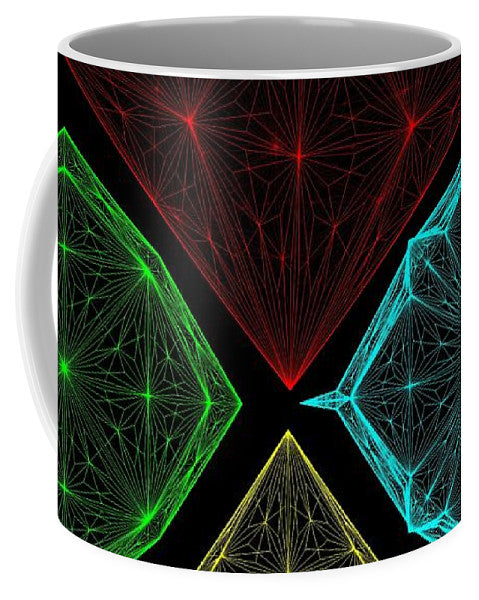 Diamond Crystal - Mug - Design Forms Of Art