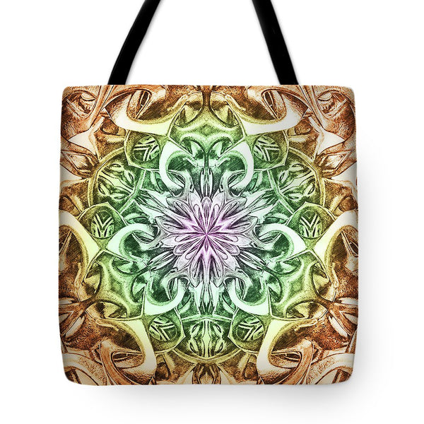 Chain Engravingdness  - Tote Bag - Design Forms Of Art