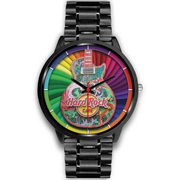 Electric Guitar - Gibson • BLACK • Luxury Art Watch