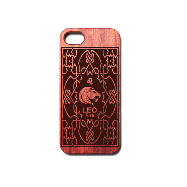 Zodiac LEO - Rosewood iPhone Case - Design Forms Of Art