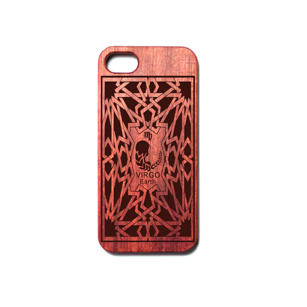 Zodiac VIRGO - Rosewood iPhone Case - Design Forms Of Art
