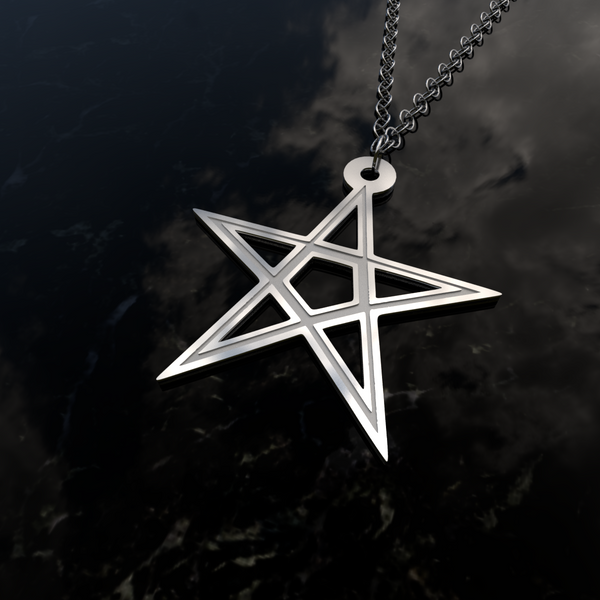 Star Pentagon Tribal • Charms & Chains - Design Forms Of Art