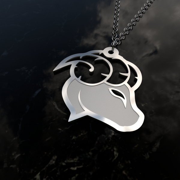 Zodiac ARIES – Fire Sign - Pendant - Design Forms Of Art