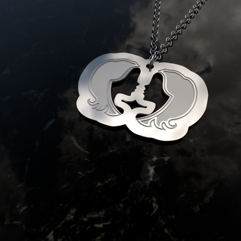 Zodiac GEMINI – Air Sign • Charms & Chains - Design Forms Of Art