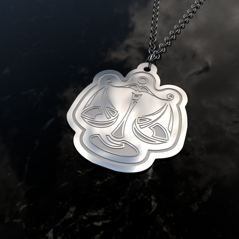 Zodiac LIBRA – Air Sign • Charms & Chains - Design Forms Of Art