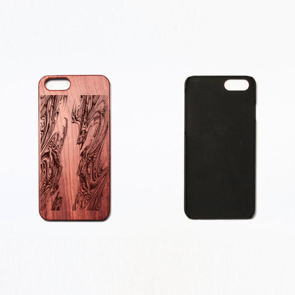 Dragon Tattoo - Rosewood iPhone Case - Design Forms Of Art