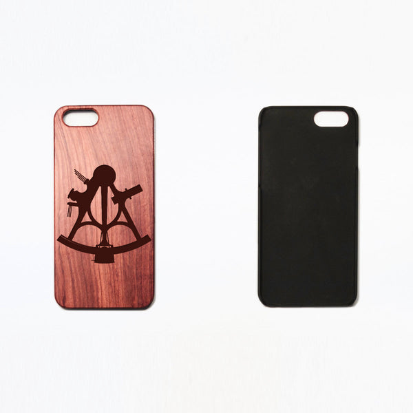 Sextant - Rosewood iPhone Case - Design Forms Of Art