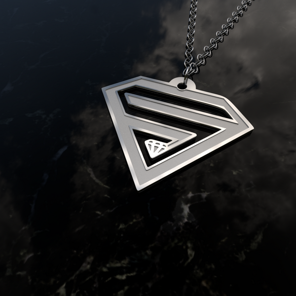 SUPERHERO Sign - Pendant - Design Forms Of Art