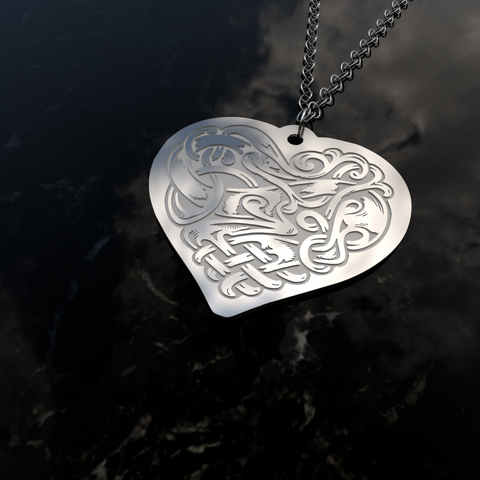 Creepy Heart • Charms & Chains