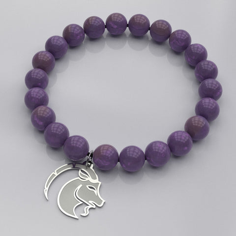 Zodiac CAPRICORN - Earth Sign • Bead Stone Bracelet - Design Forms Of Art