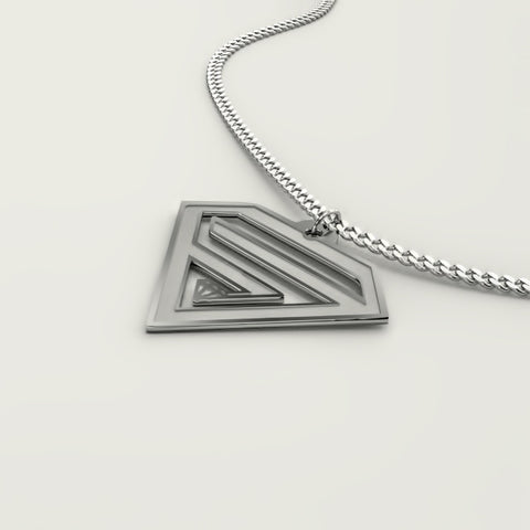 SUPERHERO Sign • Charms & Chains - Design Forms Of Art