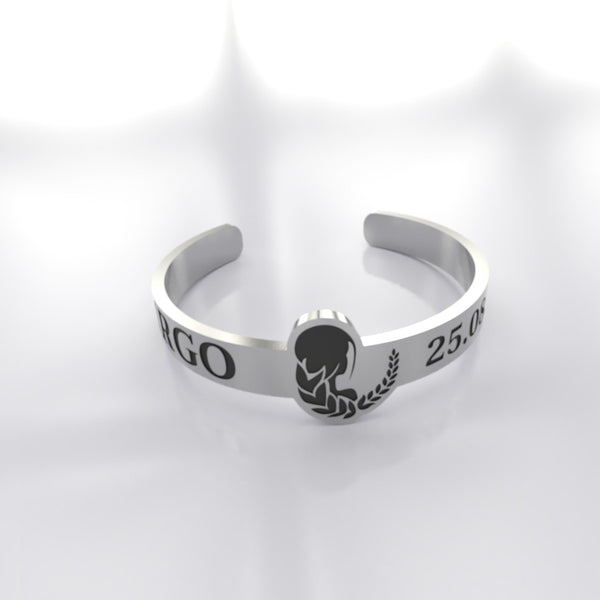 Zodiac - Custom RING - VIRGO - 01 - Design Forms Of Art