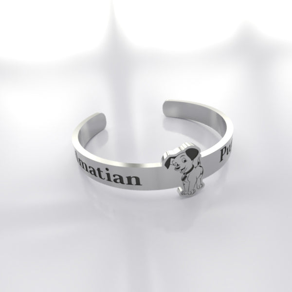 Dog • Dalmatian - Custom RING - Design Forms Of Art