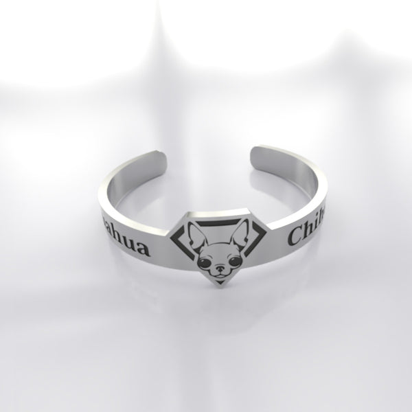 Dog • Chihuahua - Custom RING - Design Forms Of Art
