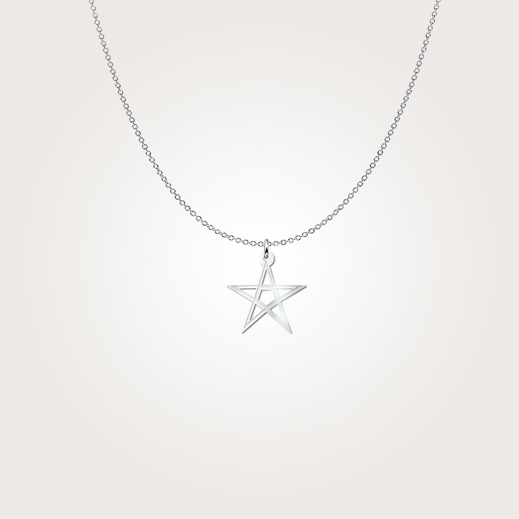 Star Pentagon Tribal - Pendant - Design Forms Of Art