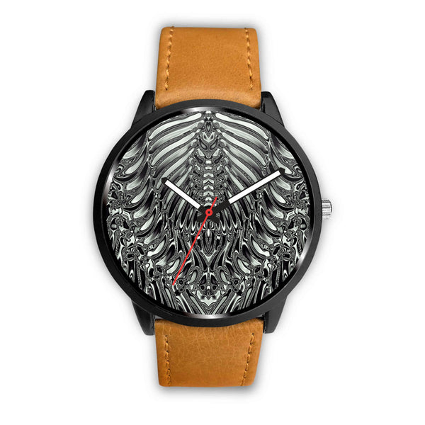 Aliens Skeleton • Custom Art Watches • Free Shipping - Design Forms Of Art