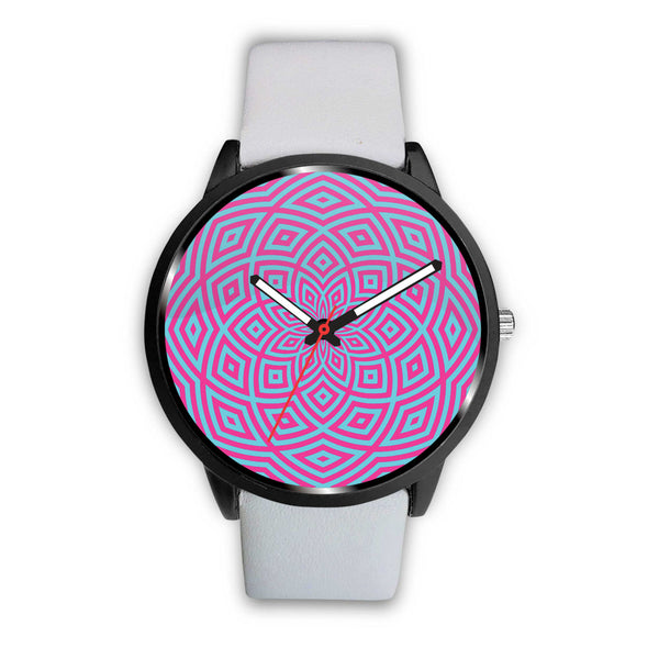 Hypnotic Flower • Custom Art Watches • Free Shipping - Design Forms Of Art