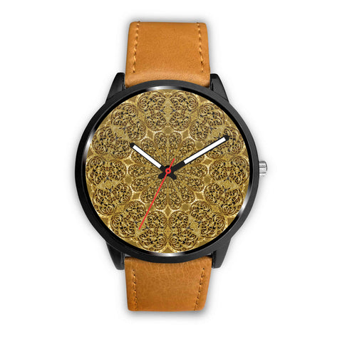 Engraving Flowers • Custom Art Watches • Free Shipping - Design Forms Of Art
