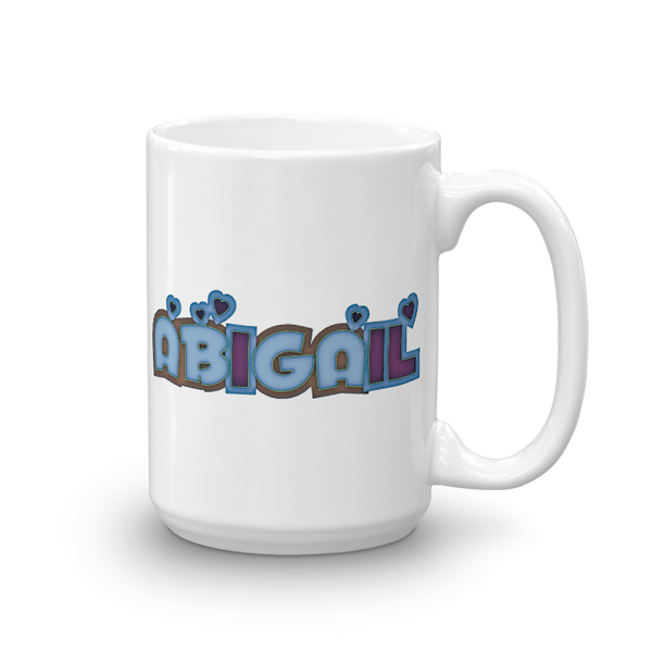 ABIGAIL Mug - Design Forms Of Art
