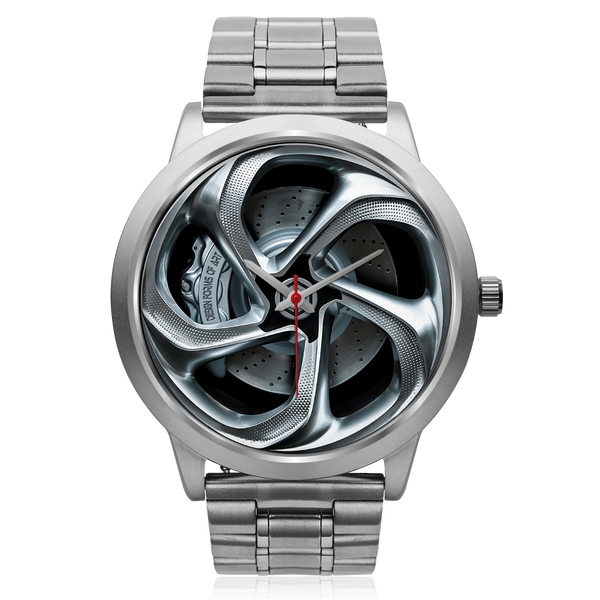 Wheels Of Steel - A • Custom Art Watches • Free Shipping