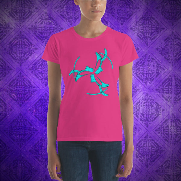 Goody Three-Shoes - Short Sleeve Women T-Shirt - Design Forms Of Art