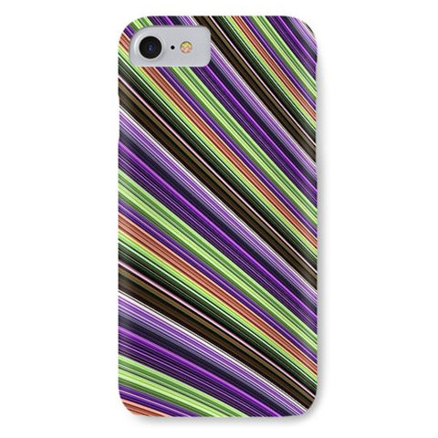 Abstract Colored Lines - Phone Case - Design Forms Of Art