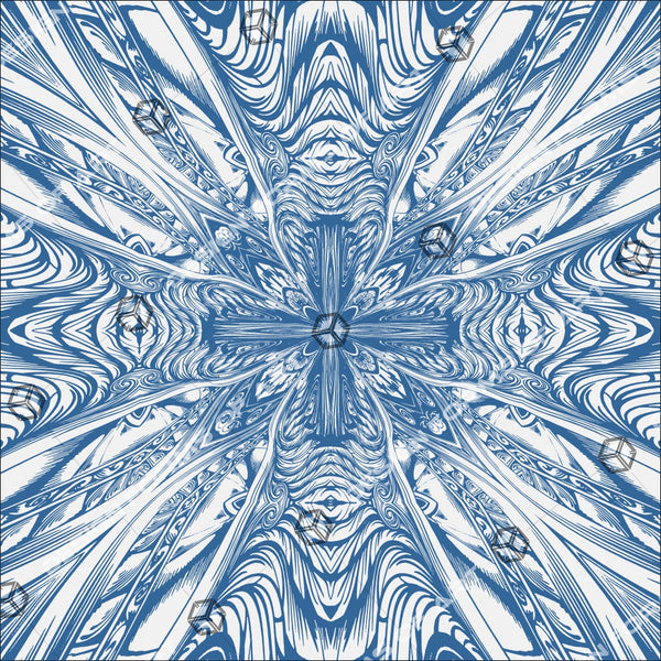 Abstract Cross Pattern Kaleidoscope Background 04 - Vector - Design Forms Of Art