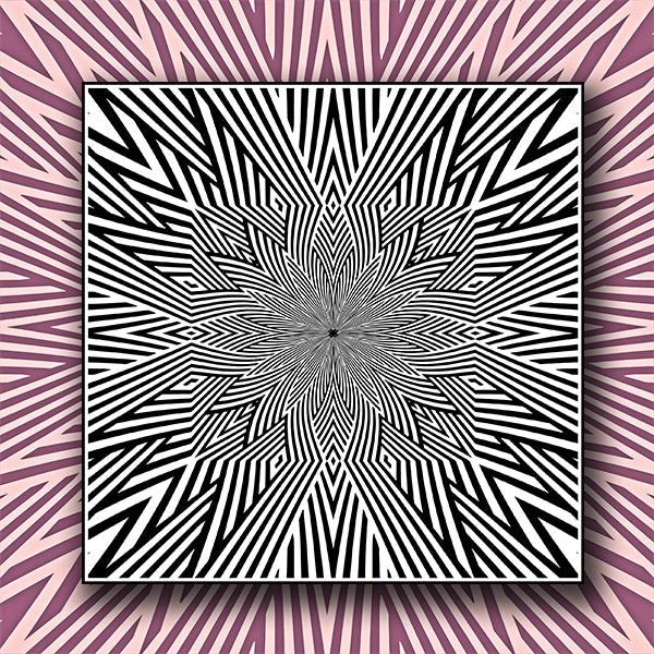 Abstract Pattern Kaleidoscope Background 02 - Vector - Design Forms Of Art