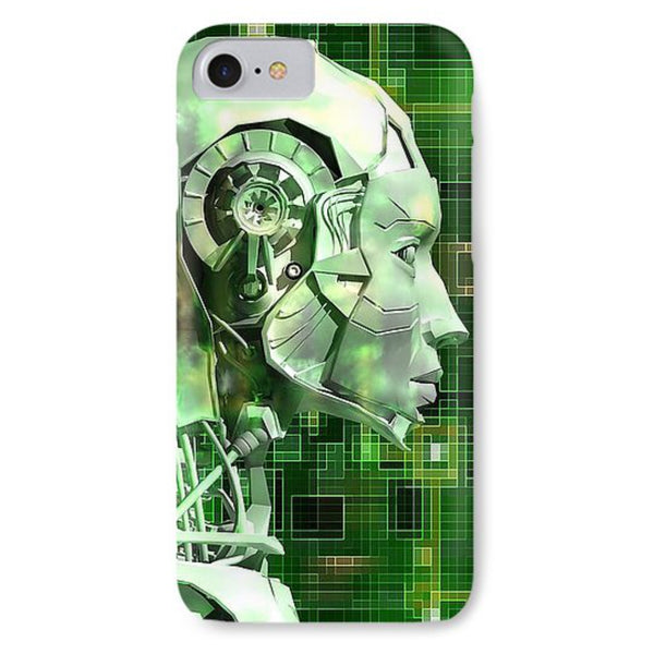 Android Reveals Internal Technology Of Their Electrical Circuit - Phone Case - Design Forms Of Art