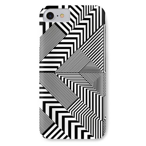 black and white art nouveau deco phone case design forms of art