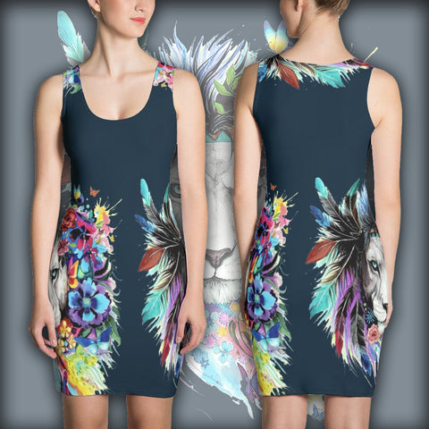 Twin Lion - Sublimation Cut & Sew Dress