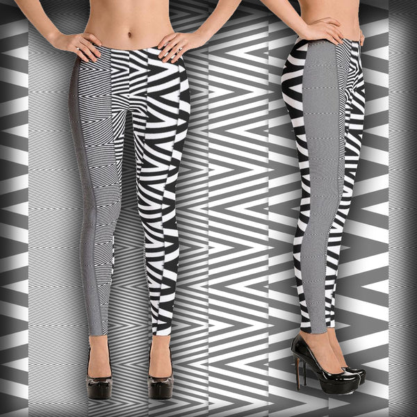 Zig-Zag - Leggings - Design Forms Of Art
