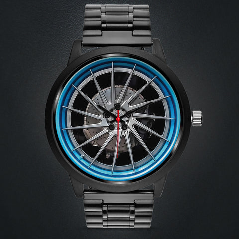 Wheels Of Steel - C • Custom Art Watches • Free Shipping