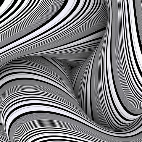 Curvemazing Stripeallization - Art Print - Design Forms Of Art