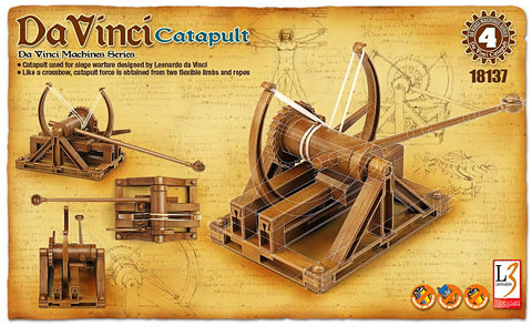 Da Vinci - Catapult - Educational Model - Design Forms Of Art