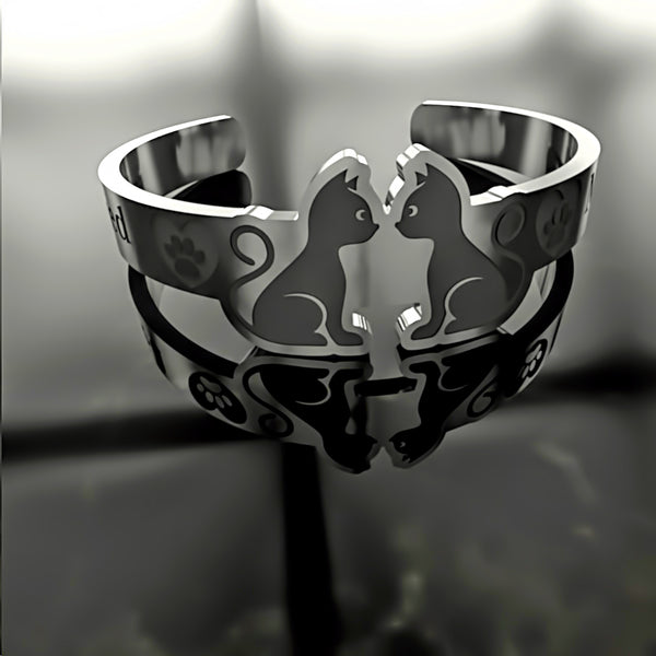 Cat • Cute Cats - Custom RING - 02 - Design Forms Of Art