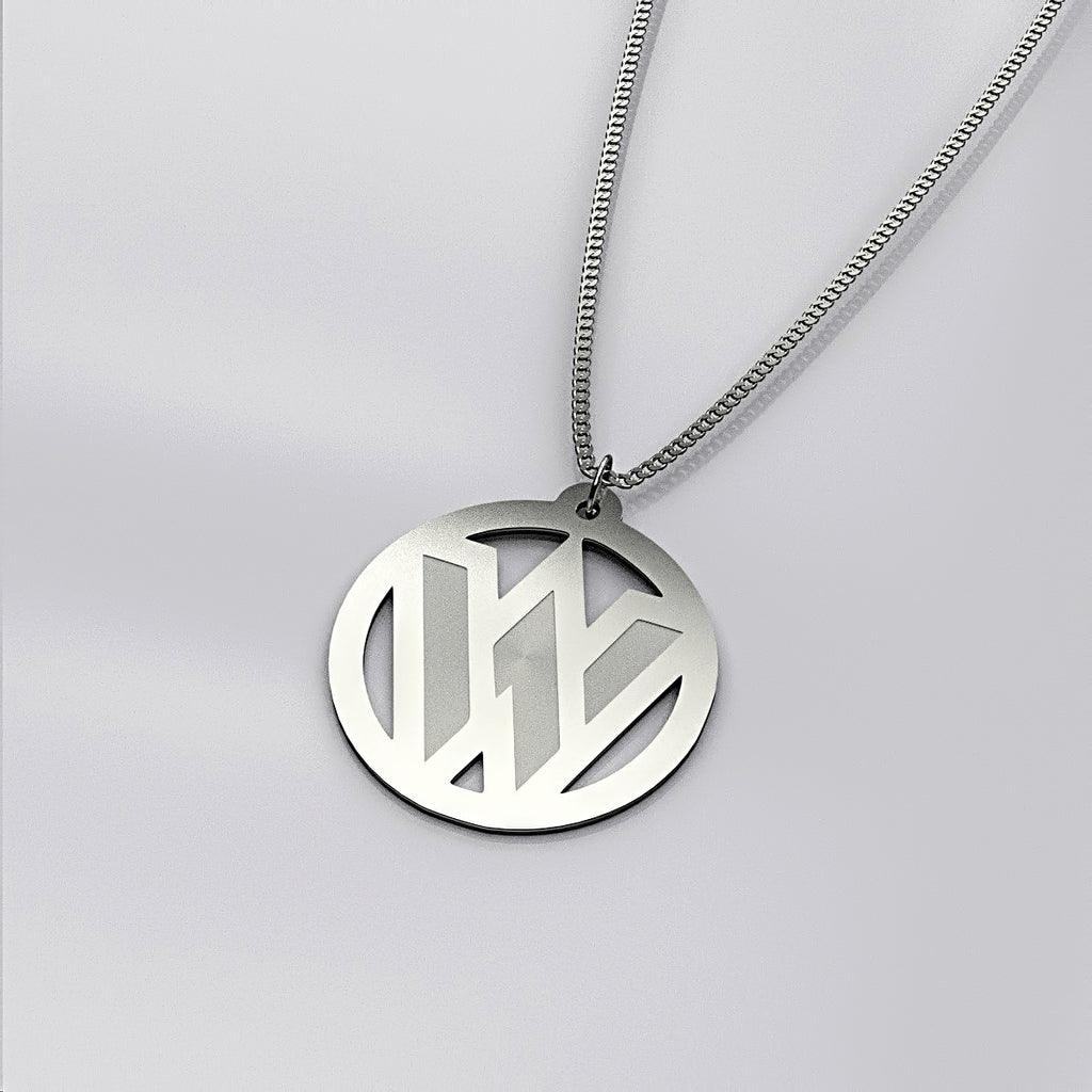 Personalized One Initial Circle NECKLACE • Mothers Day - Design Forms Of Art