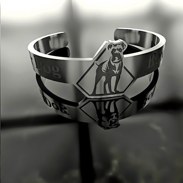 Dog • Boxer - Custom RING - 02 - Design Forms Of Art