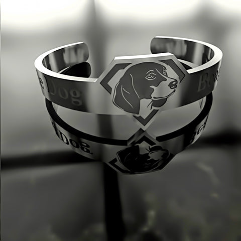 Dog • Beagle - Custom RING - Design Forms Of Art