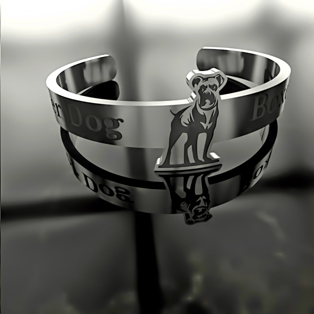 Dog • Boxer - Custom RING - 01 - Design Forms Of Art