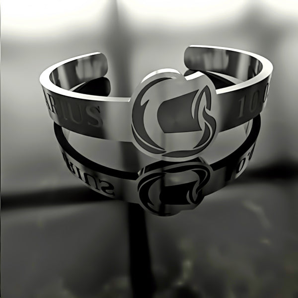Zodiac - Custom RING - AQUARIUS - 02 - Design Forms Of Art