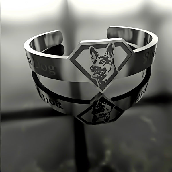 Dog • German Shepherd - Custom RING - Design Forms Of Art